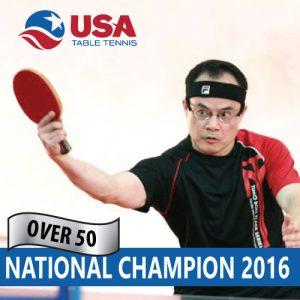 Over 50 USA National Champion 2016