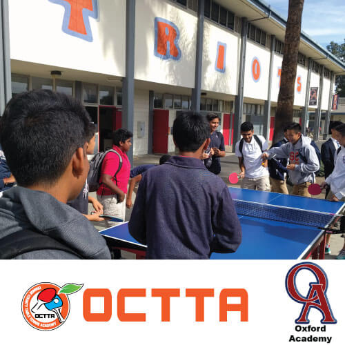 Oxford Academy and Table Tennis Program